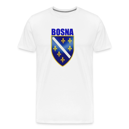 bosnaschild_blue - Männer Premium T-Shirt