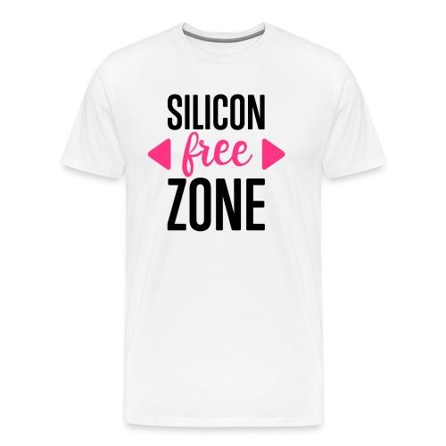 Silicon-free-Zone - Männer Premium T-Shirt