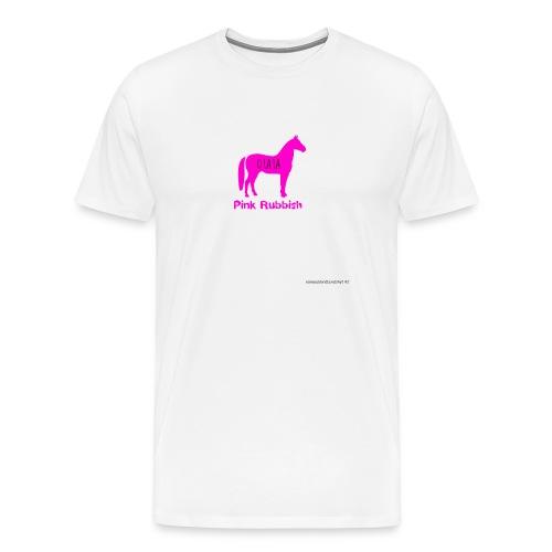 Pink Rubbish - Mannen Premium T-shirt
