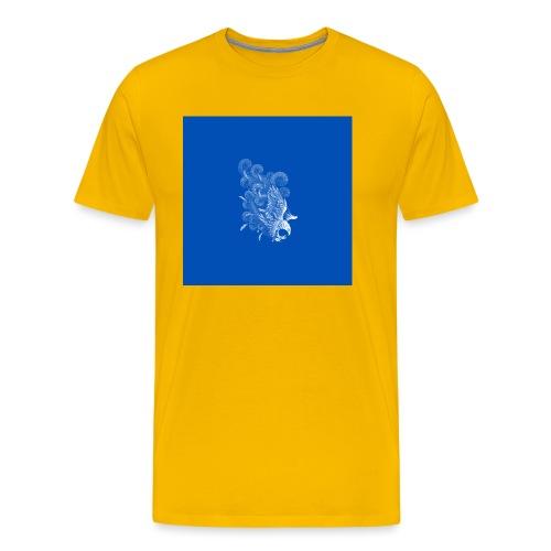 Windy Wings Blue - Men's Premium T-Shirt