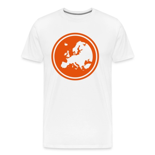 EGEA logo circle - Men's Premium T-Shirt