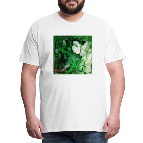 TIAN GREEN Mosaik DK017 - Hope - Männer Premium T-Shirt