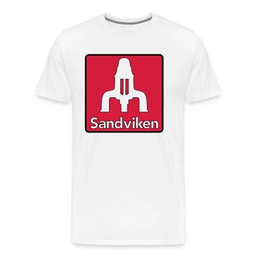 Sandviken Hoodie - Premium-T-shirt herr