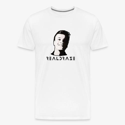 realdraze logo official 2 png - Männer Premium T-Shirt