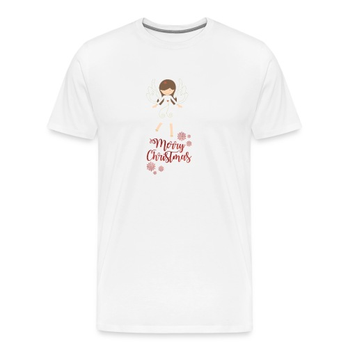Weihnachtstasse - Männer Premium T-Shirt