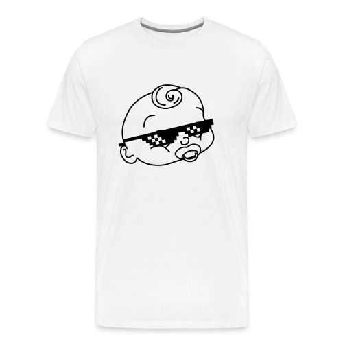 bambino ciuccio - Maglietta Premium da uomo