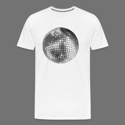 Disco kugle spejl bold - Herre premium T-shirt