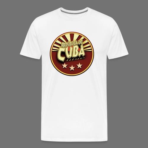 Republica De Cuba Libre - Männer Premium T-Shirt