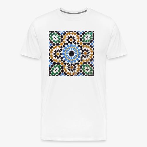 mosaique afrique du nord jpg - T-shirt Premium Homme