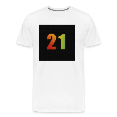 21 Hoody - Männer Premium T-Shirt