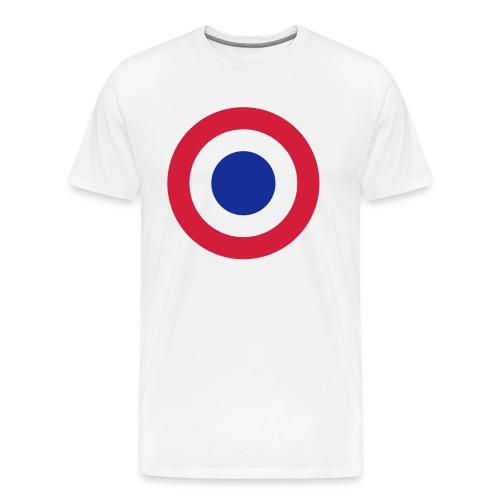 FFI Logo 2 manche - T-shirt Premium Homme