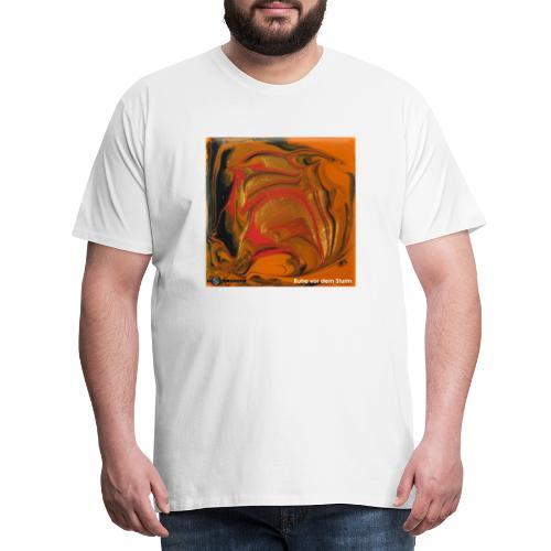 TIAN GREEN Mosaik DK040 - Ruhe vor dem Sturm - Männer Premium T-Shirt