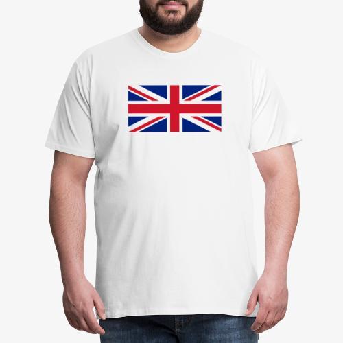 FLAG OF U.K. - Maglietta Premium da uomo