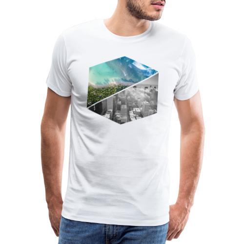City vs Palm Beach - Männer Premium T-Shirt