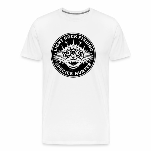 LRF Species hunter Logo 01 - Mannen Premium T-shirt