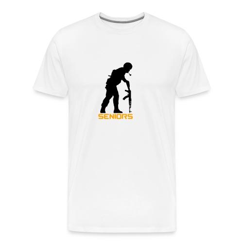 Træner Trøje - Herre premium T-shirt