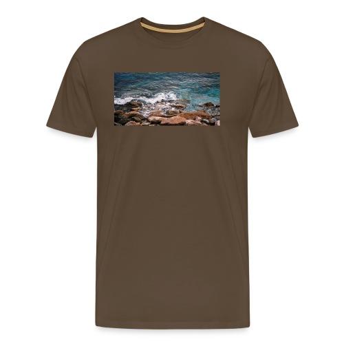 Handy Hülle Meer - Männer Premium T-Shirt