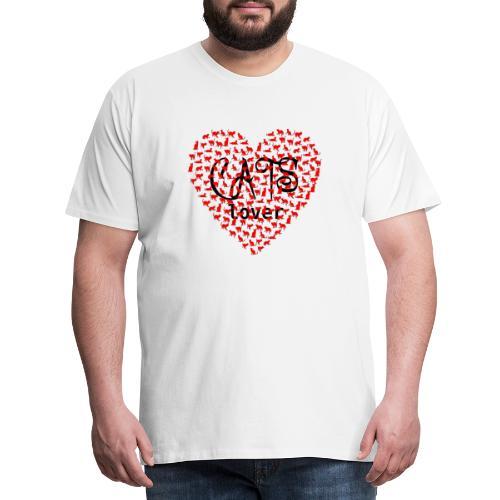 cats lover - Männer Premium T-Shirt