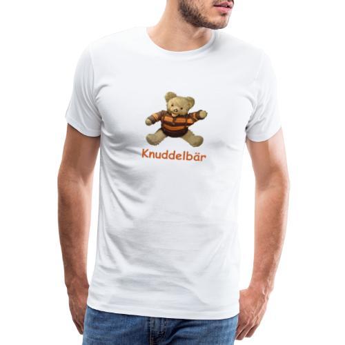 Teddybär Knuddelbär Schmusebär Teddy orange braun - Männer Premium T-Shirt
