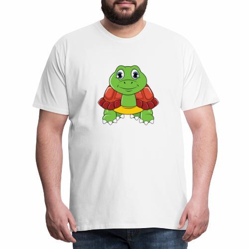 Niedliche Schildkröte - Männer Premium T-Shirt
