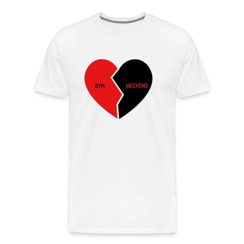 Heart for Gym - Männer Premium T-Shirt