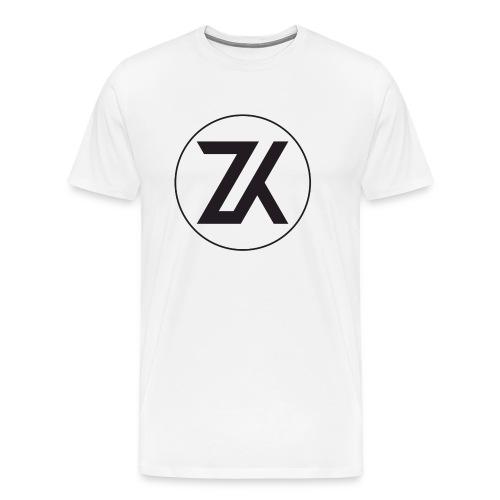 Z-K tryck (Zahid Khayree) - Premium-T-shirt herr