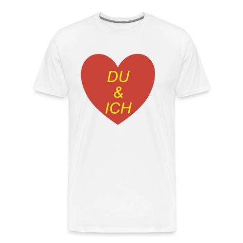 Herzilein - Männer Premium T-Shirt