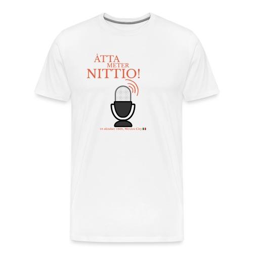 890 - Premium-T-shirt herr