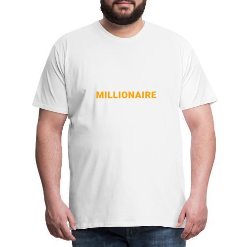 MILLIONNAIRE - T-shirt Premium Homme