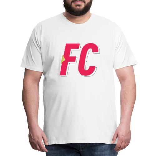 FC Logo - Herre premium T-shirt
