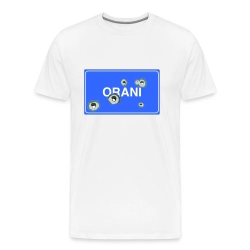 Cartello Orani blu - Maglietta Premium da uomo
