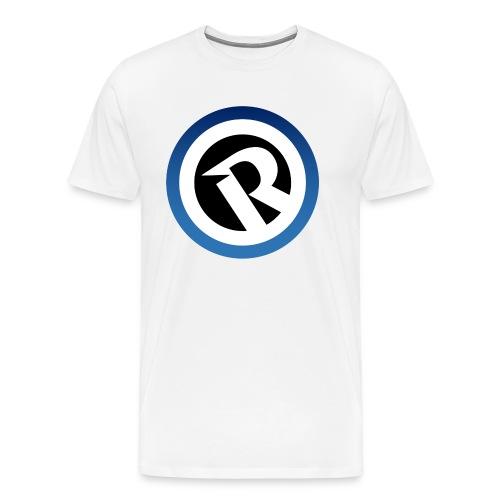 Logo Reborn Spoilers Blue - Men's Premium T-Shirt