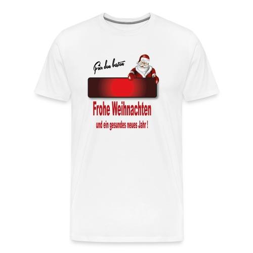 Weihnachten Christmas X mas 1 - Männer Premium T-Shirt