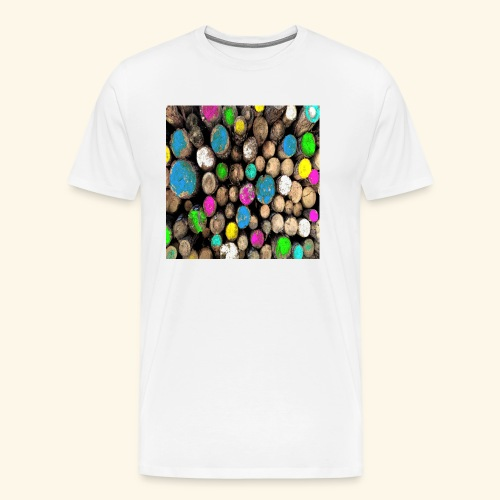 Tronchi colorati - Maglietta Premium da uomo