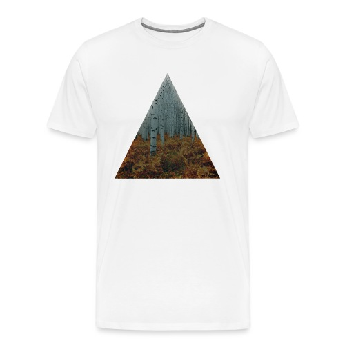 triangle/foret - T-shirt Premium Homme