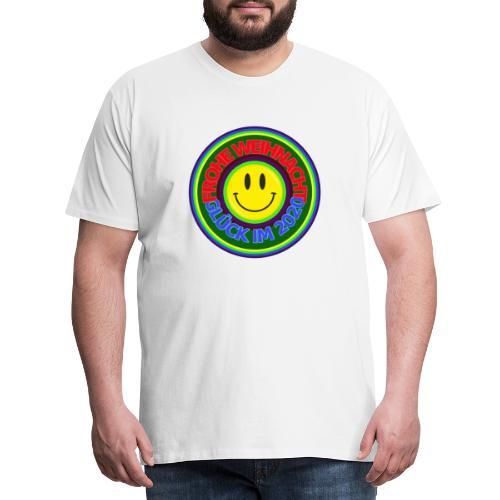 Frohe Weihnacht Glück im 2020 - Männer Premium T-Shirt