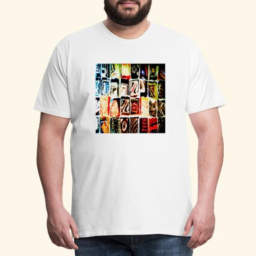 Mosaico - Maglietta Premium da uomo