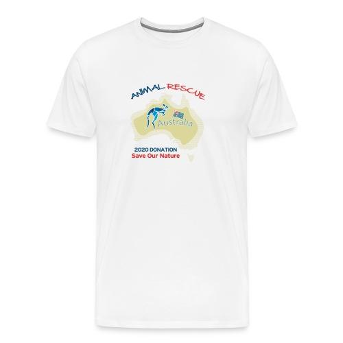 Australien - Spendenaktion - Animal Rescue - Männer Premium T-Shirt