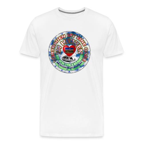 Oase im Herzen - Männer Premium T-Shirt