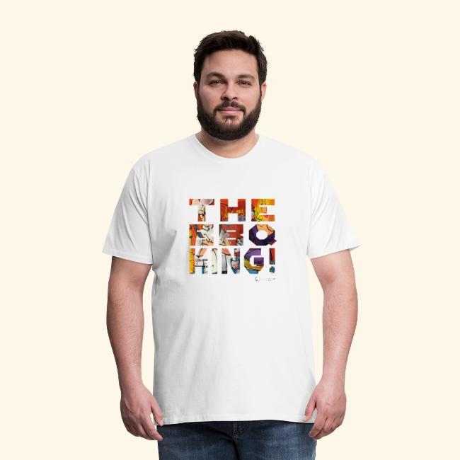 THE BBQ KING T SHIRTS TEKST