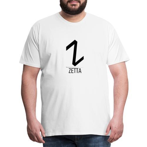 ZettaGamer - Camiseta premium hombre
