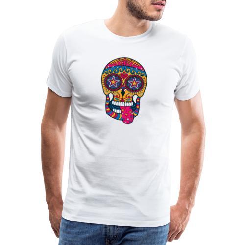 Mexican Skull - Maglietta Premium da uomo