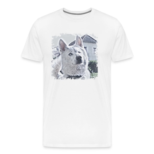 Pass auf - Männer Premium T-Shirt