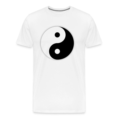 Yin and Yang svg - T-shirt Premium Homme