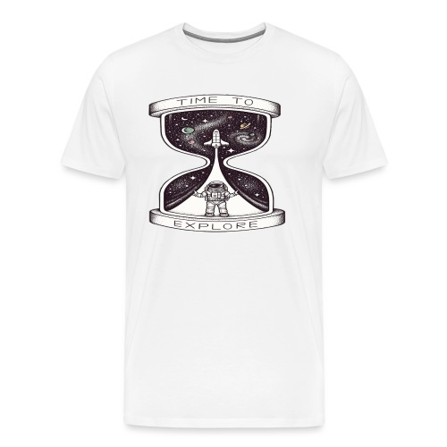 Time To Explore - Camiseta premium hombre