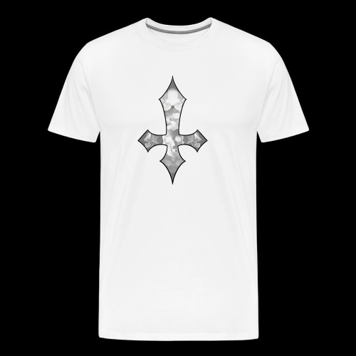 Skull Cross - Premium-T-shirt herr