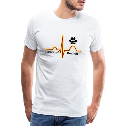 Tiernotruf Bocholt - Männer Premium T-Shirt