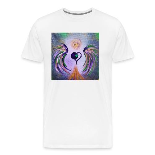 Herzengel Trau Dich - Männer Premium T-Shirt