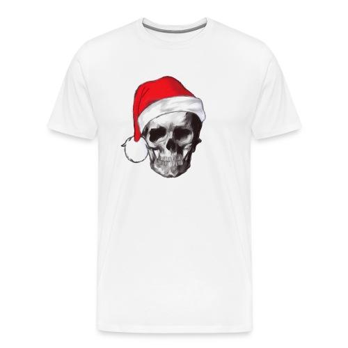 weihnachten-skull Weihnachtsmann - Männer Premium T-Shirt
