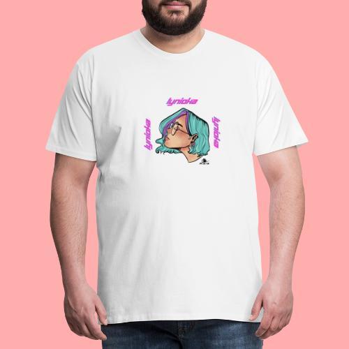 Lynioka Purple Up - T-shirt Premium Homme